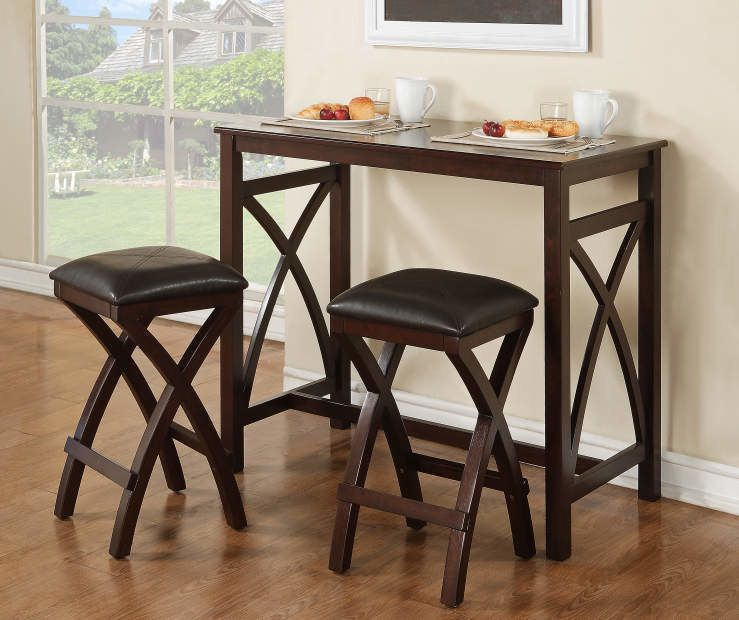 34 Useful Things You Can Get On Sale At Big Lots Right Now Pub Table Sets Dining Table Setting Pub Dining Set