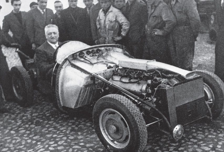 Check it out: Ferrari\'s first car, the 815. | Classic Cars ...