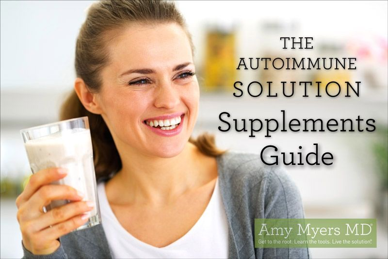 The Myers Way Thyroid Diet Food List
