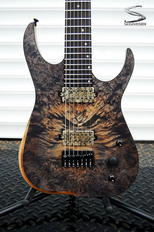 "Skervesen 7-string from ""What's your favourite top wood? - SevenString.org"""