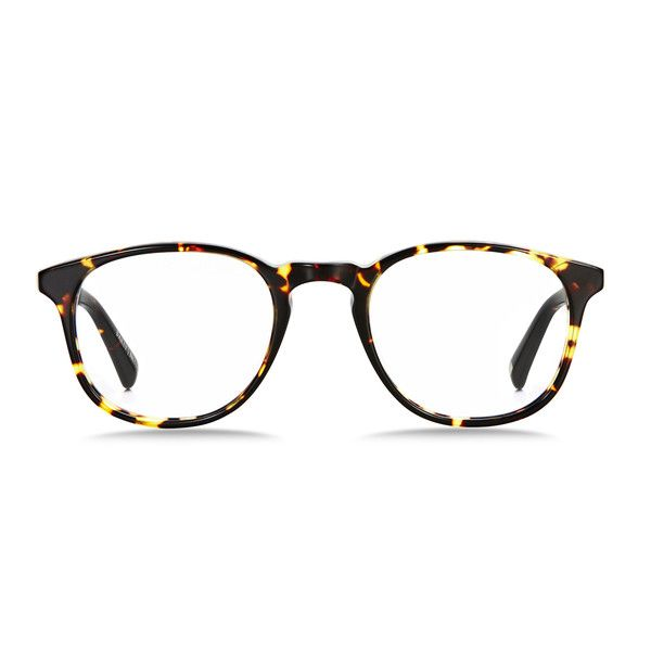 d9c62f56f4 A thin acetate frame that outlines teardrop-shaped lenses and finely  sculpted corners.