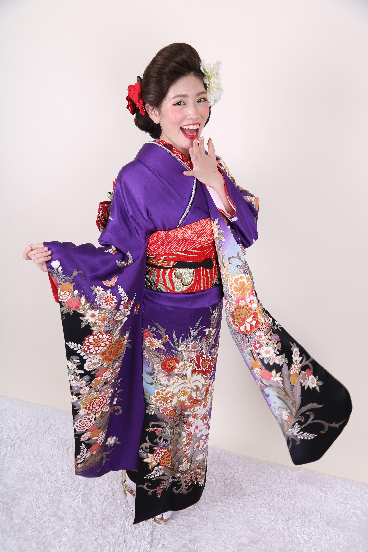35b90309f kimono | 【Kimono】Furisode | Kimono, Kyoto, Kimono top