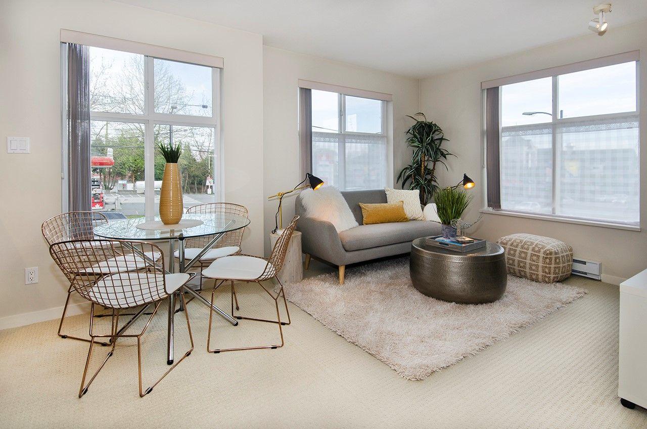 Trendy One Bedroom & Den Condo in Prime Location! 202 1503