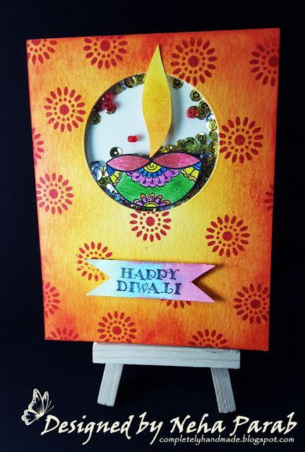 Diwali Cards Day 5 Handmade Diwali Greeting Cards Diwali Cards Diwali Greeting Cards