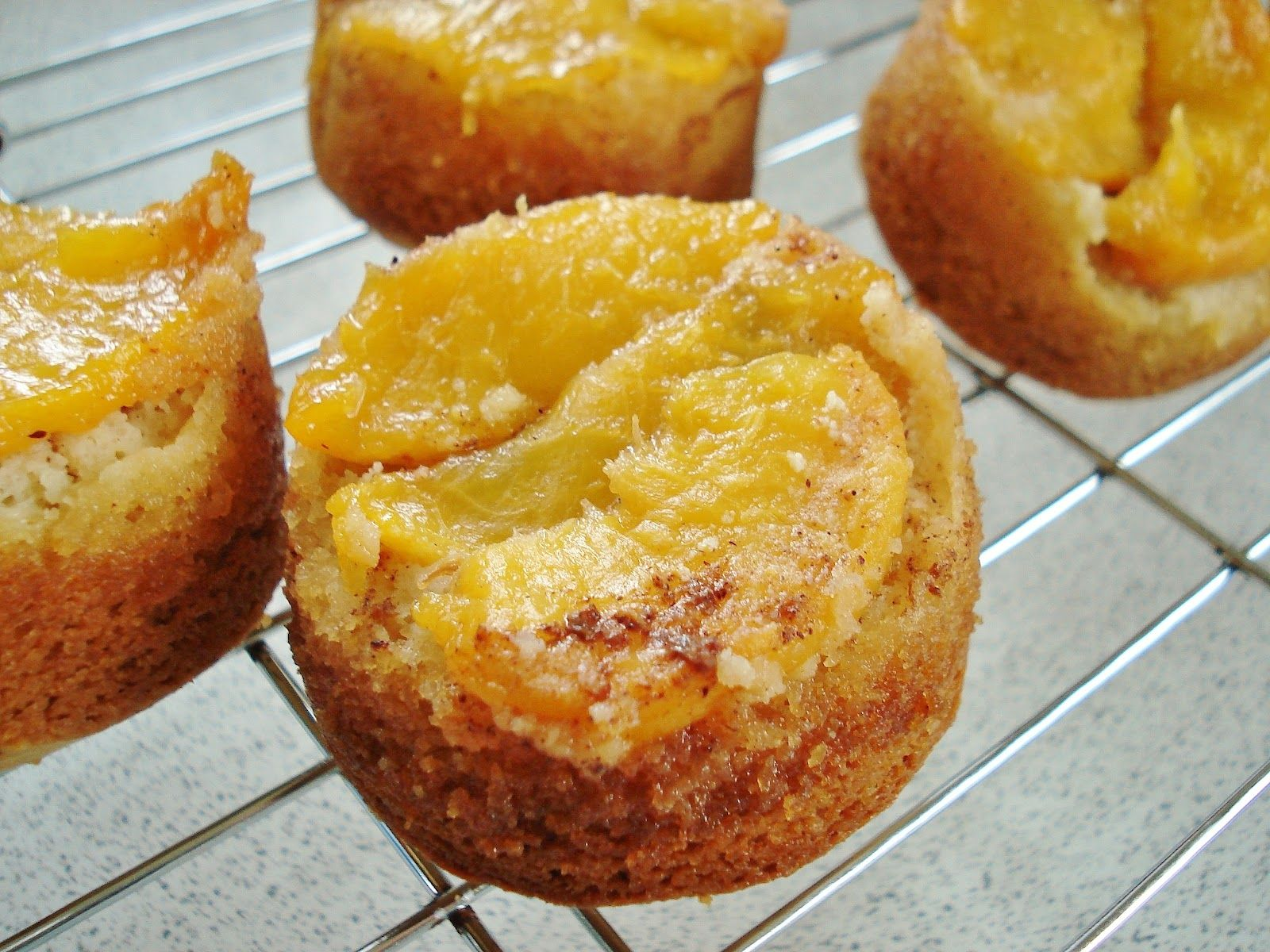 Peach pudding | Grain Free Peach Pudding Cakes & Peach Muffins GF SCD | Gluten Free ...