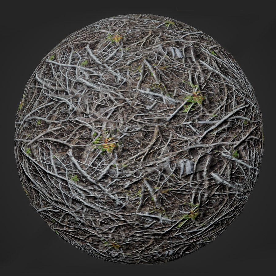 Twisted Branches PBR Material in 2019 | Materials and Substances