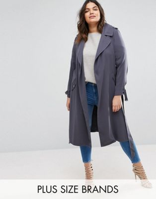 bd98476a6abd River Island Plus Jersey Duster Coat. River Island Plus Jersey Duster Coat  Plus Size Fashion For Women ...