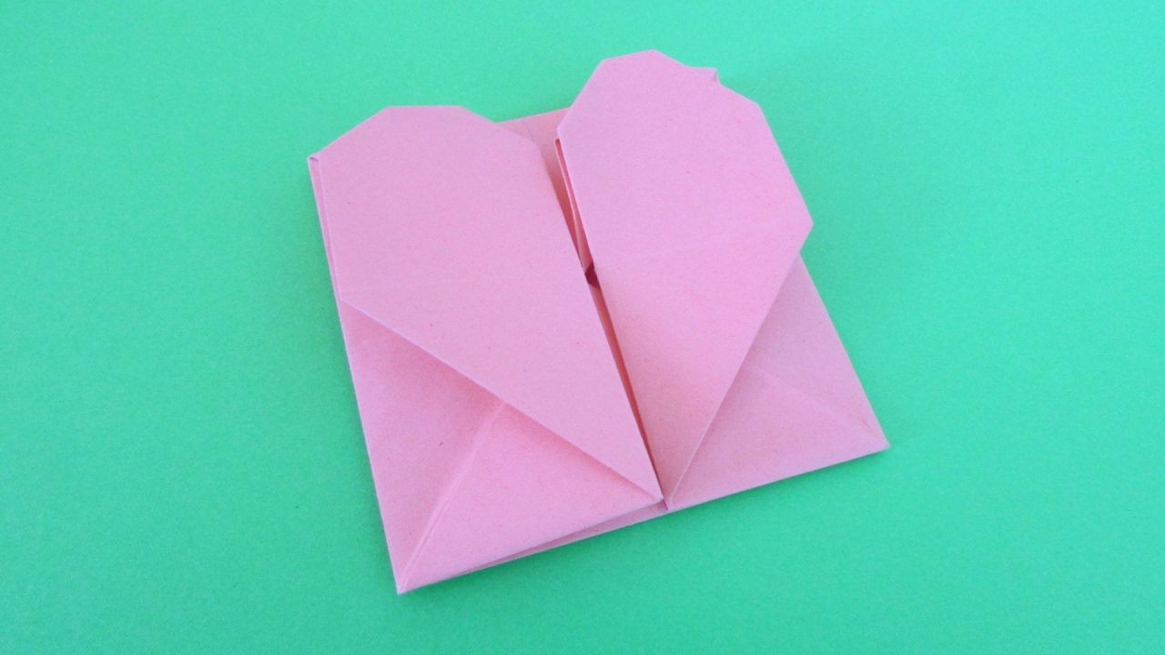 origami enveloppe pochette c ur plaisir d 39 origami pinterest origami pochette et papier. Black Bedroom Furniture Sets. Home Design Ideas