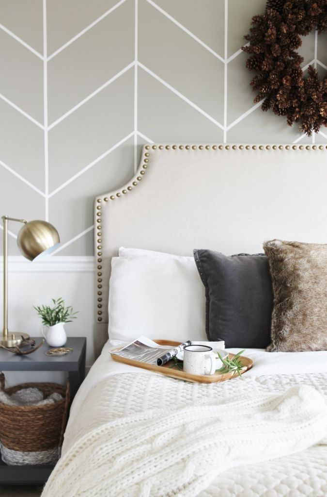 Jen From City Farmhouse Adds Festive Flair To Her Style Bedroom With Just A Few