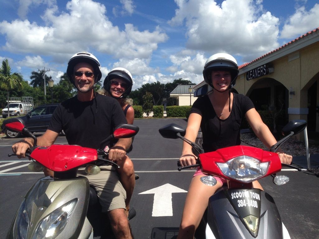 Single Seater Scooter Rentals In Key West Florida Scooter Rental 50cc Scooter