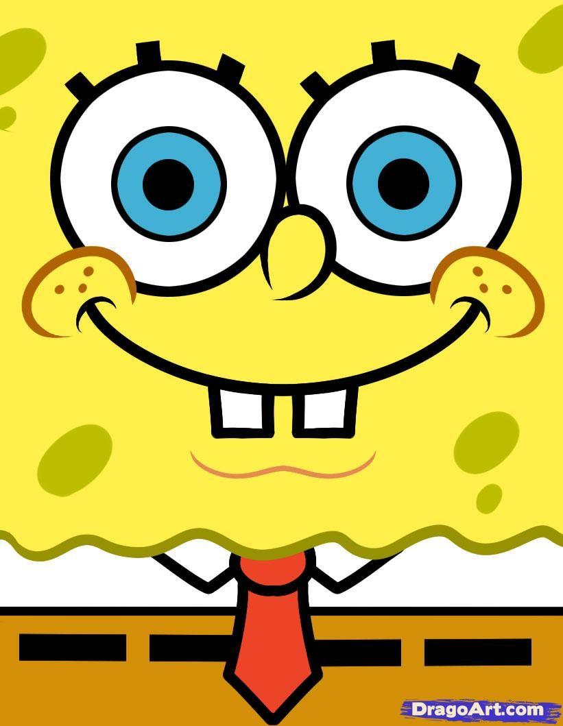 How to Draw Spongebob Easy  Family Fun  Pinterest  Cartoon How