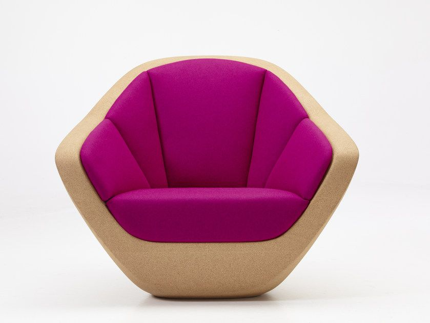 Cork armchair with armrests CORQUES  Armchair by PER-USE  Luxury