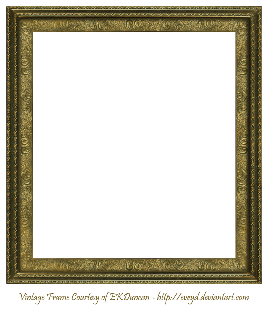 antique scroll frame square creation ekduncan by eveyddeviantartcom on deviantart