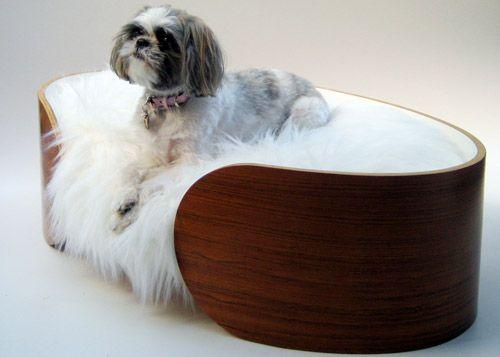 panier bois design chien chiens chien panier bois et panier. Black Bedroom Furniture Sets. Home Design Ideas