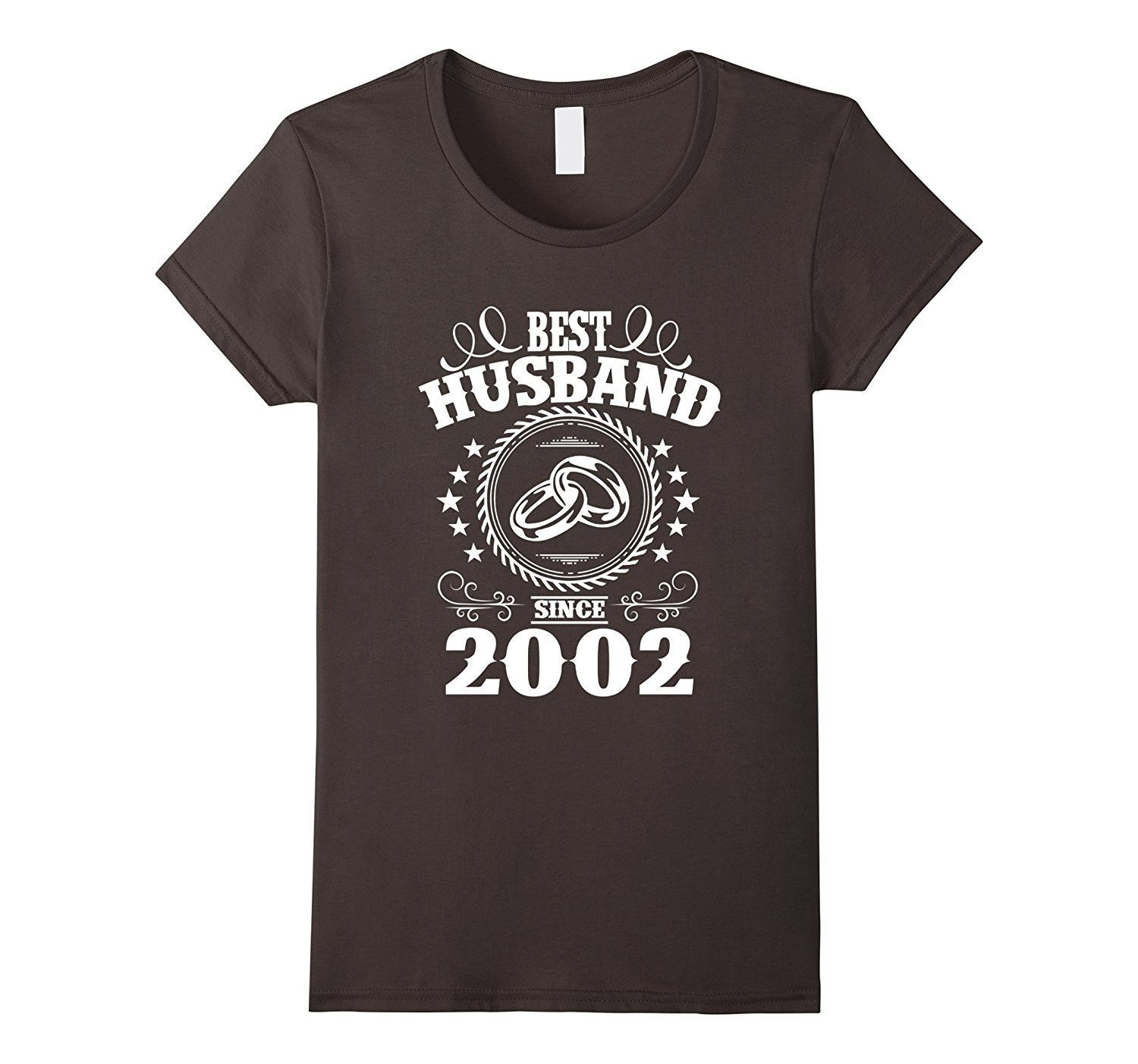 15th Wedding Anniversary TShirts For Husband From Wife