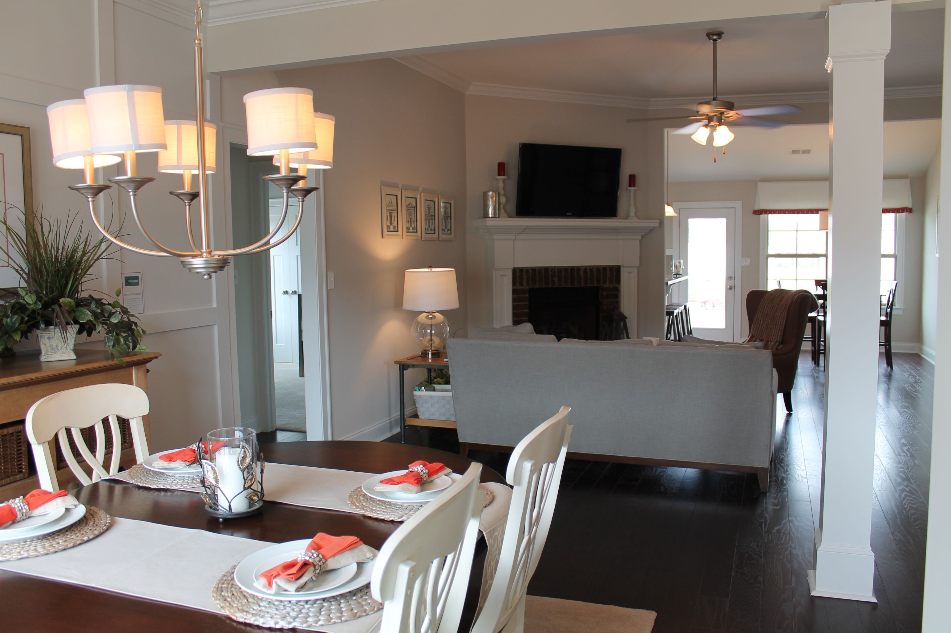 open and semi open floor plans available model homes pinterest