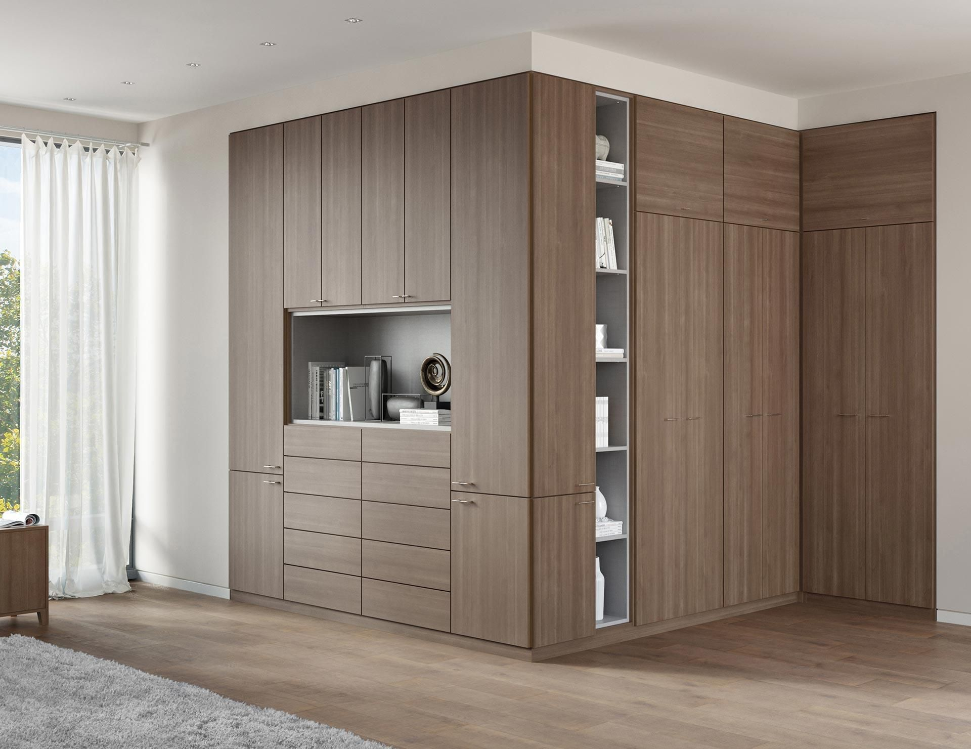Wardrobe Closet For Increasing The