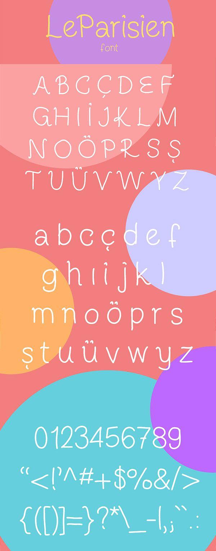 Download Free Font - LeParisien   Free handwritten fonts, Free ...