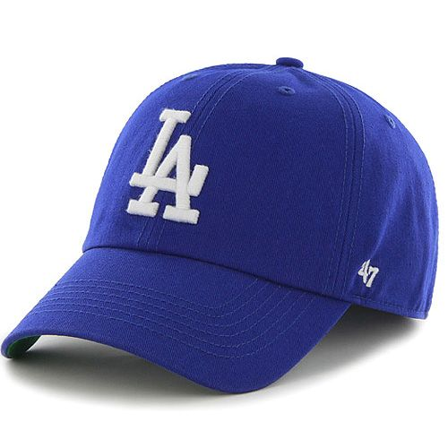 Los Angeles Dodgers Clean Up Adjustable Hat By 47 Brand Dodger Hats Dodgers Fitted Baseball Caps