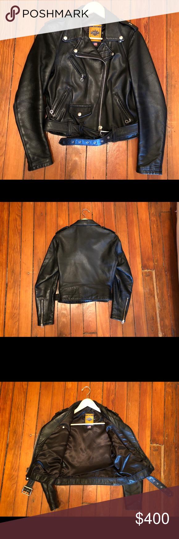 Women S Schott Perfecto Leather Jacket Leather Jacket Leather Jackets Women Jackets [ 1740 x 580 Pixel ]