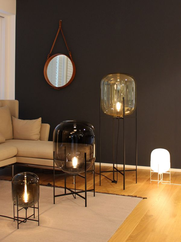 Oda Small In Amber And Black By Sebastian Herkner For Pulpo