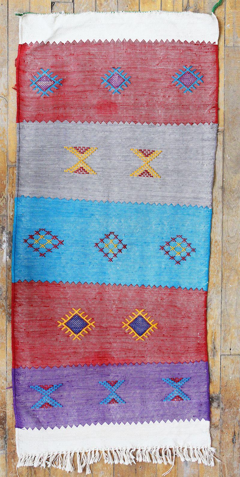 Colorful kilim carpet, Baba Souk
