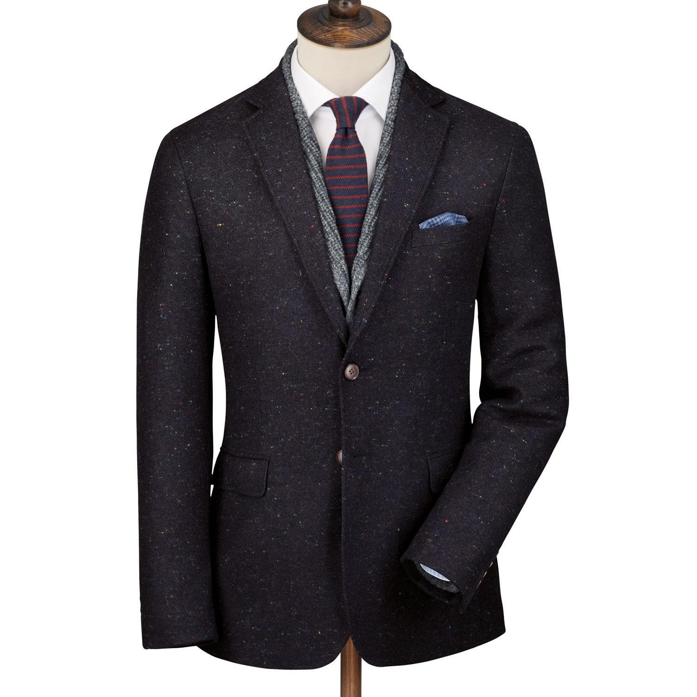 Blue Donegal Yorkshire tweed slim fit jacket Men's sport