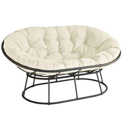 outdoor mocha double papasan chair frame - Double Papasan Chair Frame
