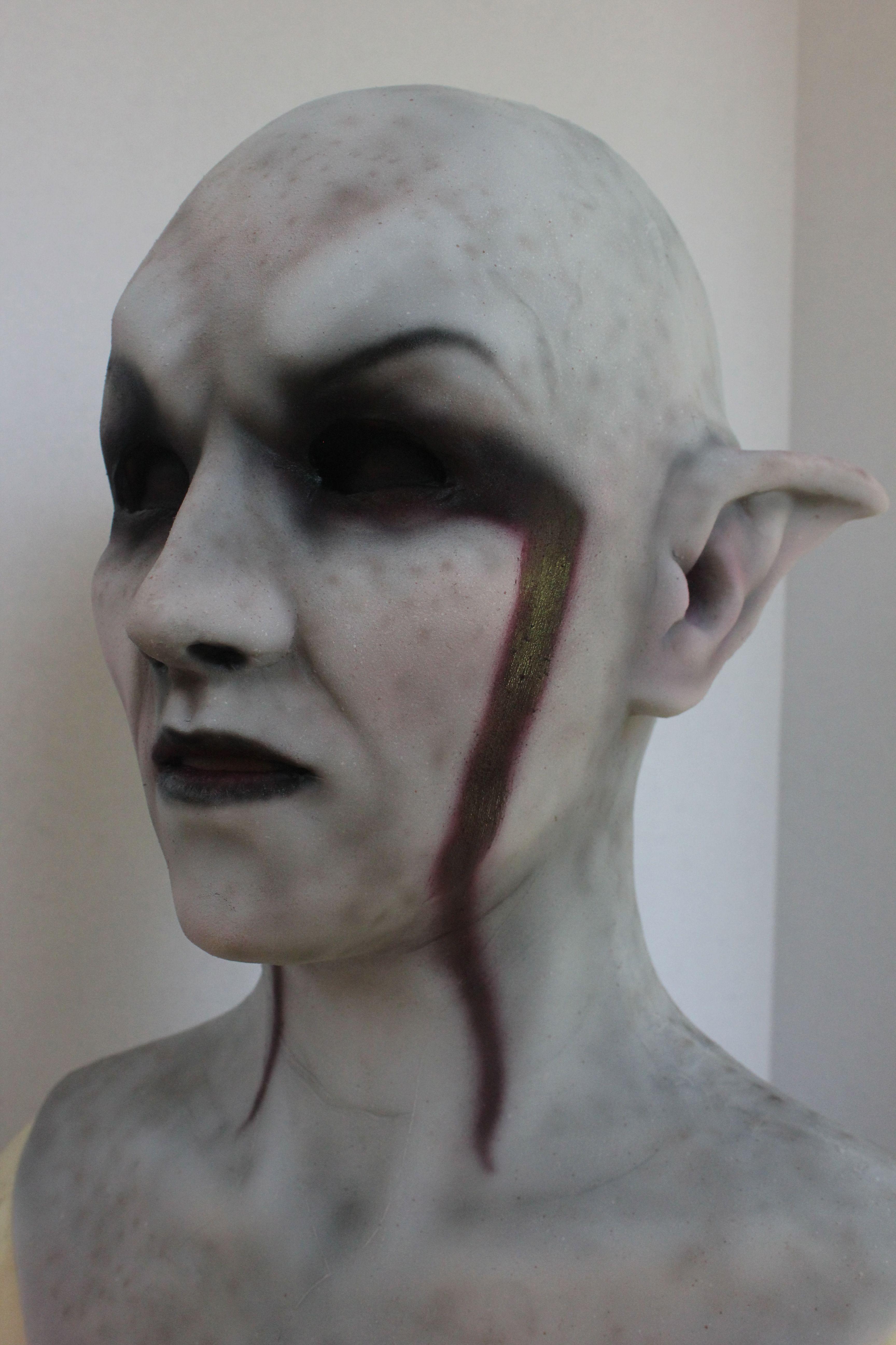Khajiit mask based on an Abbyssinian Cat | Finished Masks in