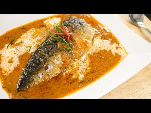 Mackerel in thai red curry choo chee hot thai kitchen food forumfinder Gallery