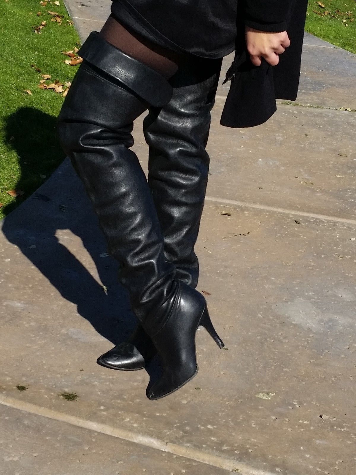 1216c07c607 eBay Leather: Vintage Wild Pair crotch-high boots finally sell...the third…