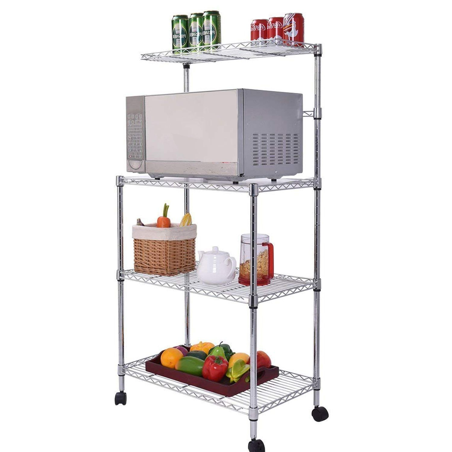 Home In 2020 Kitchen Storage Rack Kitchen Storage Bakers Rack