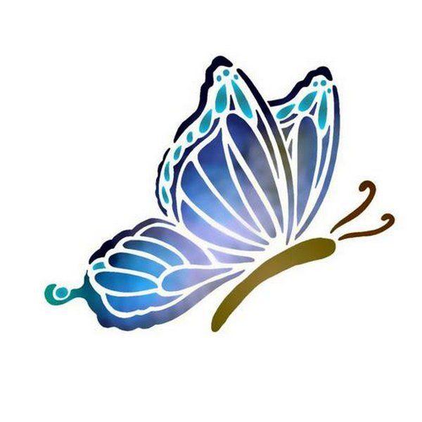Dessin en couleurs imprimer animaux insectes papillon num ro 22765 pochoirs - Animaux a imprimer en couleur ...