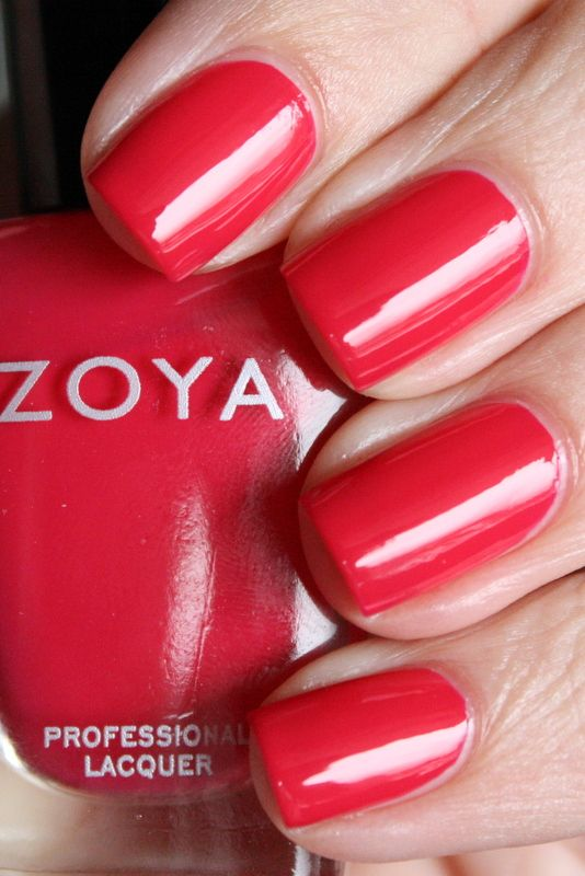 Zoya Dita - one of my very favorite shades for summer pedicures