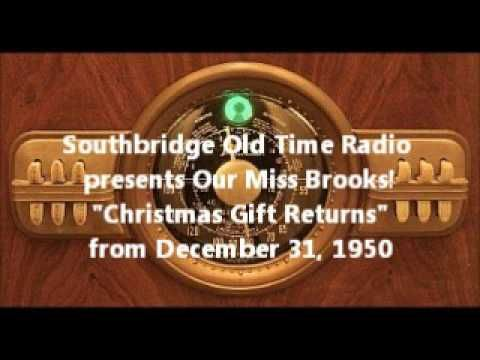 """Our Miss Brooks """"Christmas Gift Returns"""""""