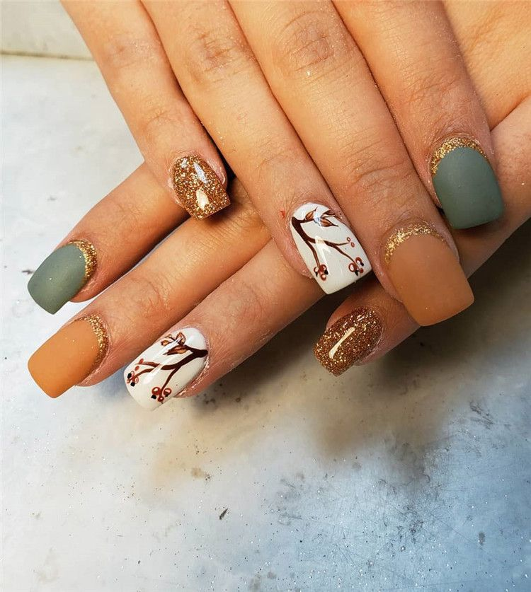 44 Trendy Fall Nails Design Ideas You Have To Try