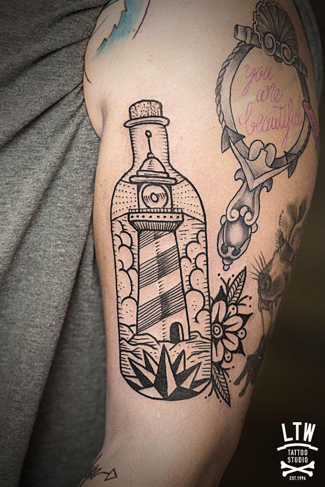 Botella Tatuaje botella | tattoo ideas | pinterest | tattoo, blackwork and tatoo