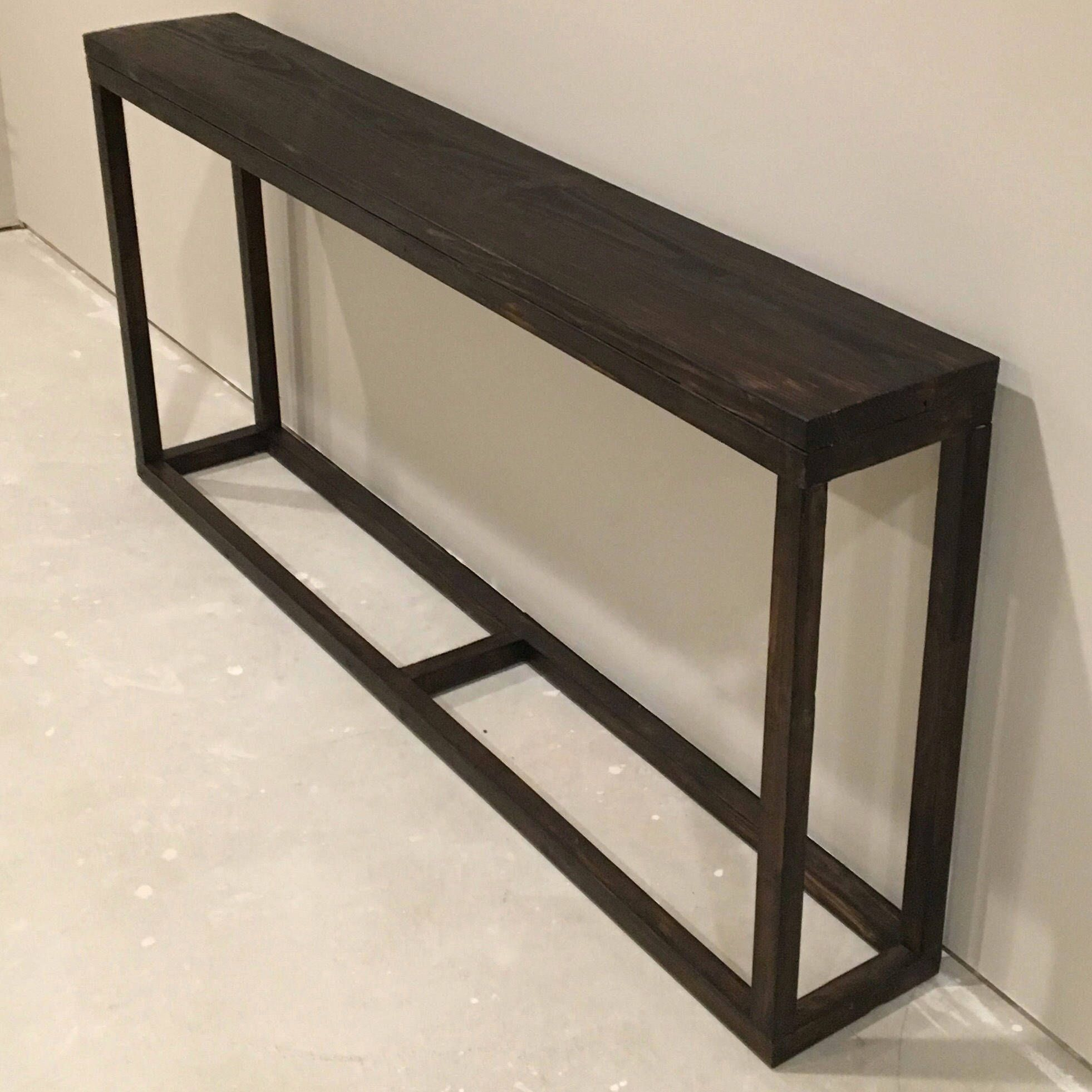 Excited To Share This Item From My Etsy Shop Long Console Table Narrow Console Table Skinny Consol Narrow Console Table Behind Sofa Table Long Sofa Table