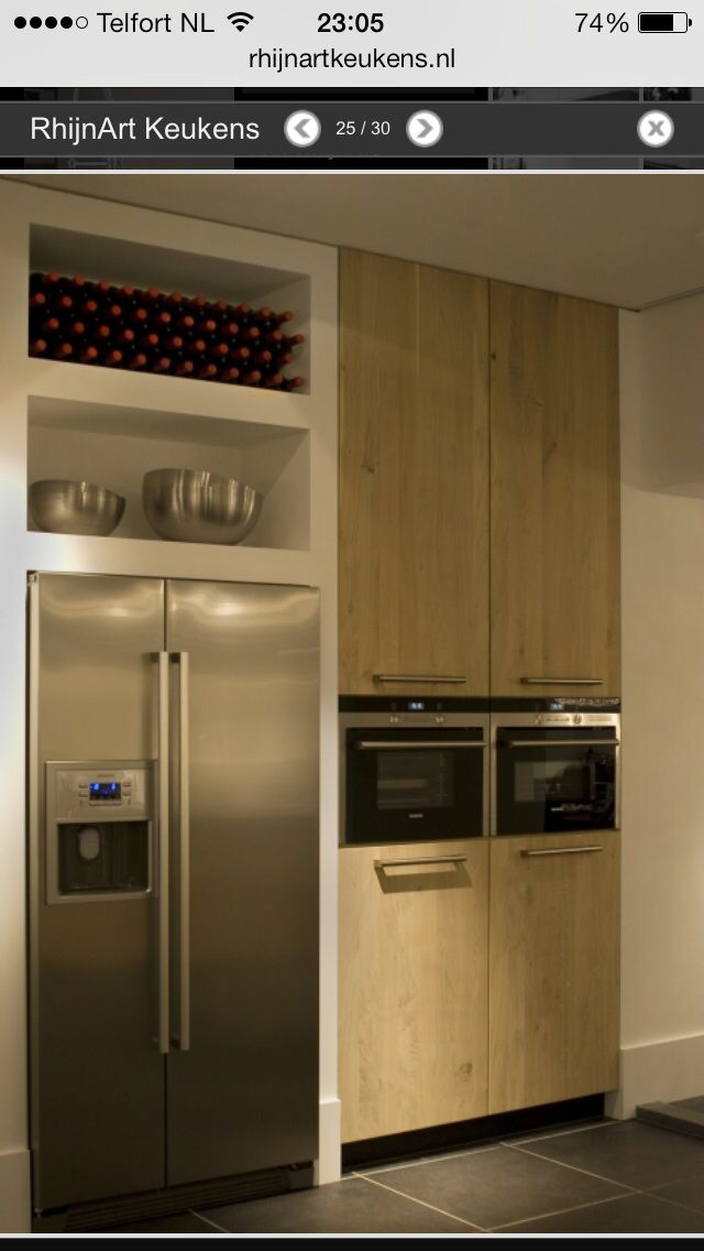 Amerikaanse Koelkast Keuken Idee Keuken Ontwerp Keuken