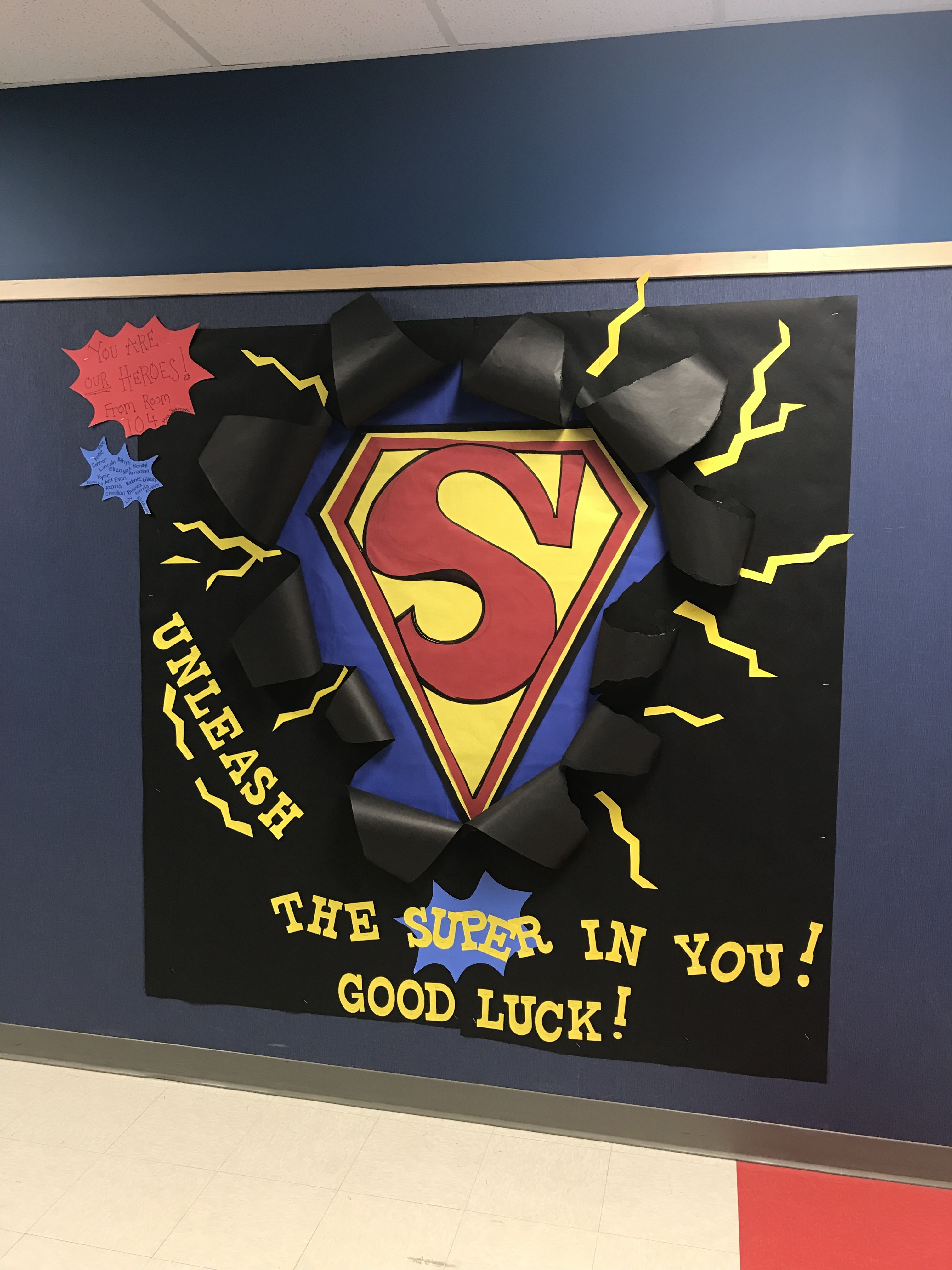 Superman Bulletin Board For Istep