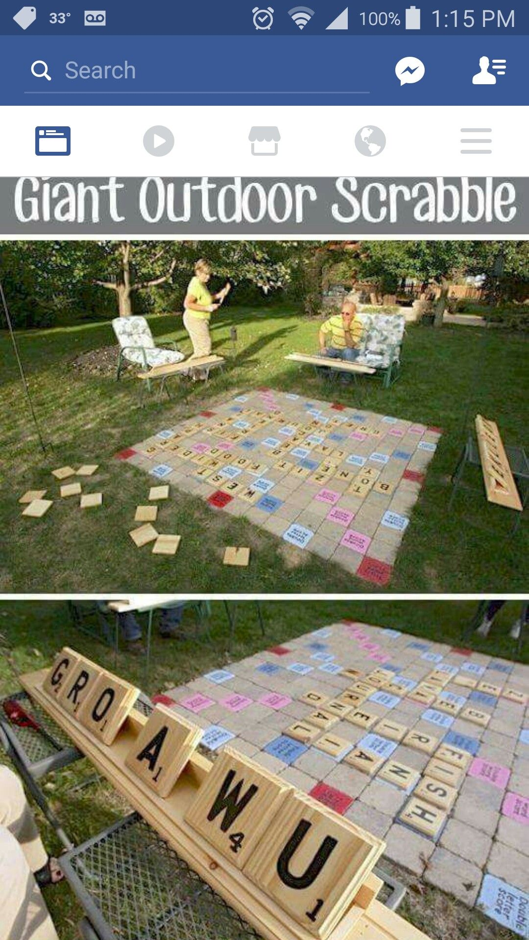 Giant Outdoor Scrabble Yes Please House Ideas Juegos Juegos