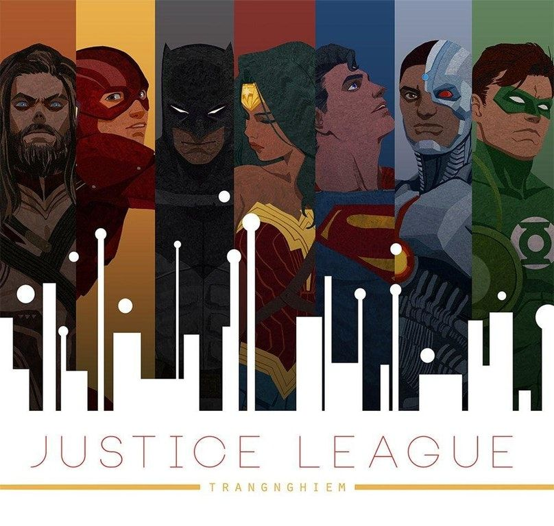 Photo of FANART: Unite the league by trangnghiem : DC_Cinematic