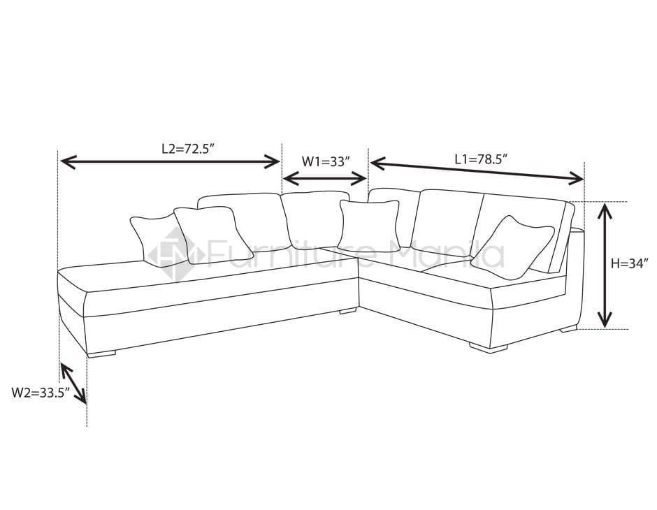 L Shaped Sofa Dimensions In 2020 L Shaped Sofa Sofa Dimension Small L Shaped Sofa