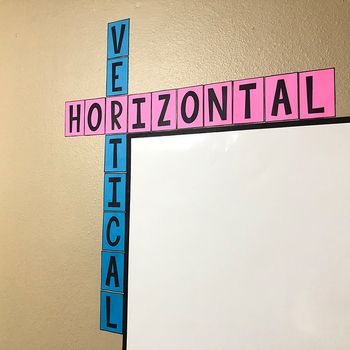 FREE Horizontal & Vertical Bulletin Board Posters - Math Classroom Decor