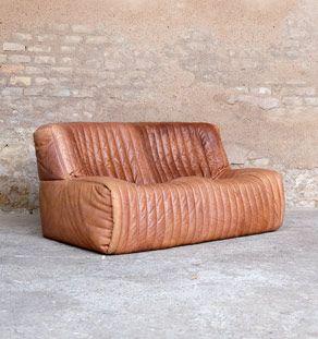Produits Gentlemen Designers Decoration Vintage Mobilier Canape Cuir