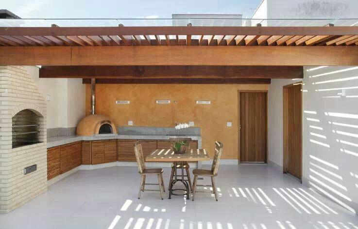 Churrasquera horno de barro terraza pinterest - Hornos para casa ...