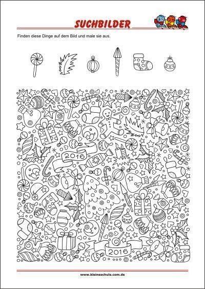image  Find the hidden objects  Search image  Find the hidden objects Search image  Find the hidden objects  Search image  Find the hidden objects  Durch das Jahr  Weihna...