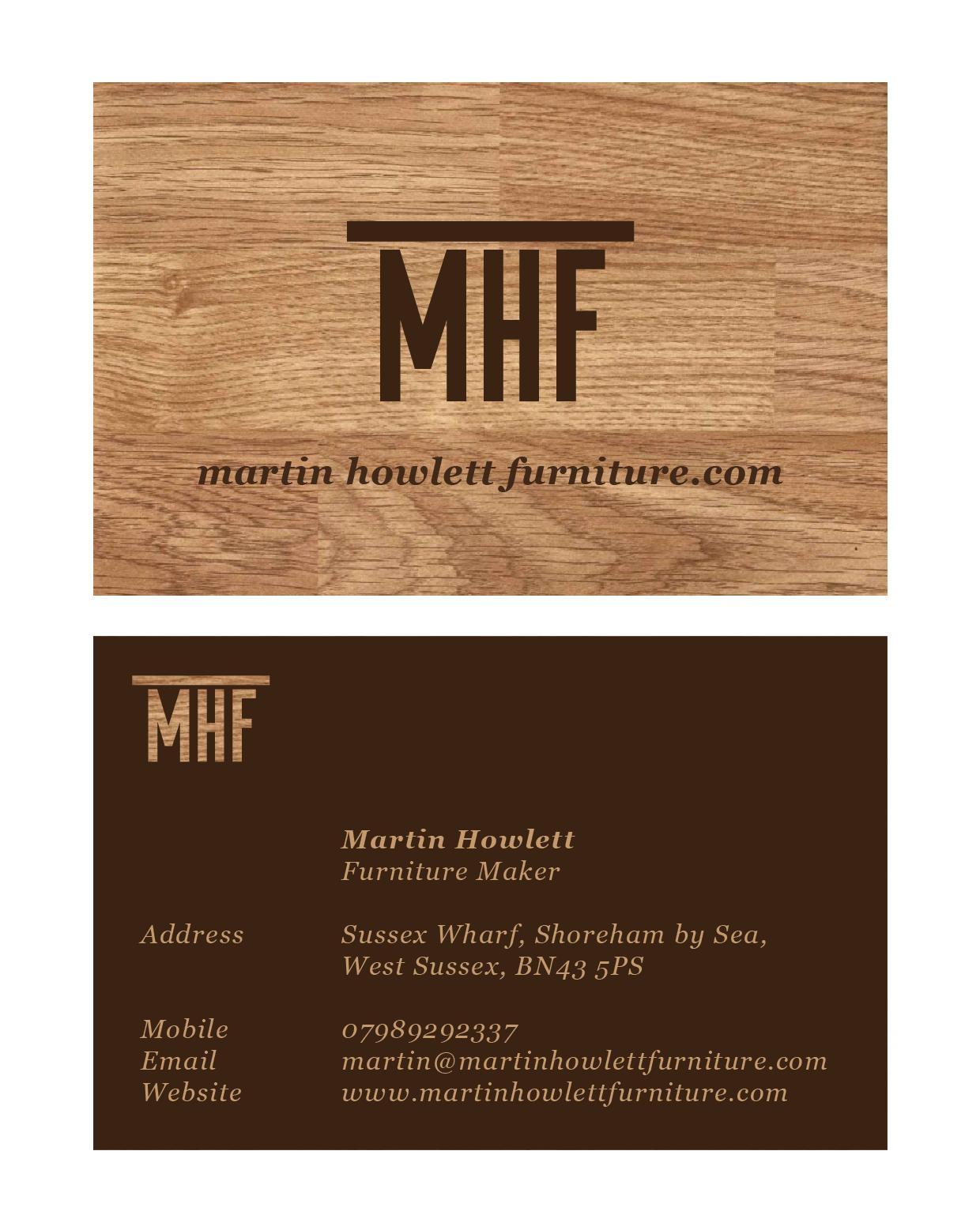 Furniture Maker Business Card Idea Business Card Maker Cool Business Cards Maker Business
