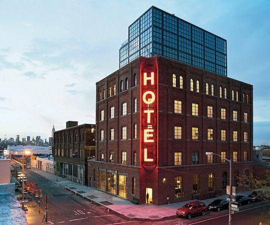 Wythe Hotel Williamsburg A Look Inside Brooklyn Hotels Nyc Bushwick