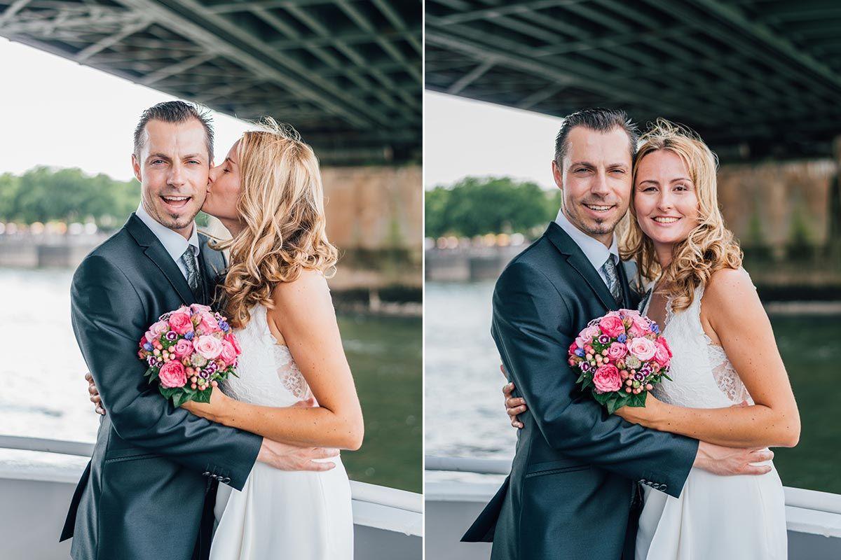 SCHIFFSHOCHZEIT AUF DEM RHEIN IN KÖLN | Hochzeit ...
